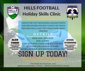 Holiday Skills Clinic 1 - April